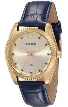 Relógio Feminino Mondaine 94985lpmvdr1 Caixa Dourada