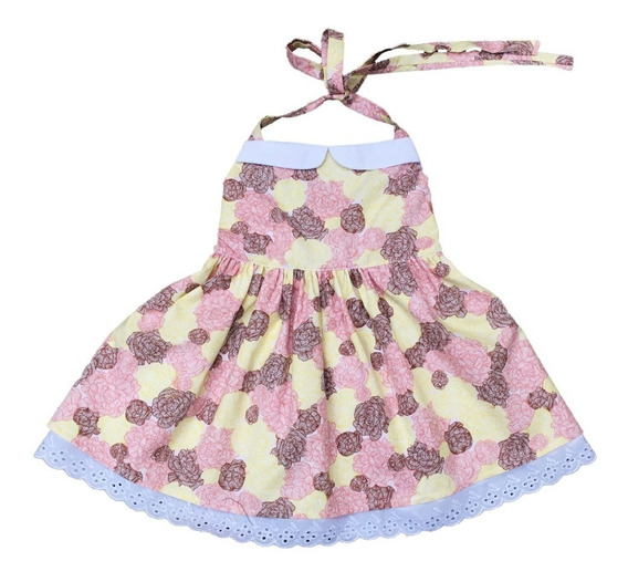 Vestido Retrô Infantil