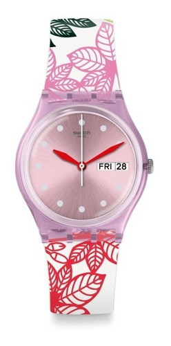 Relógio Swatch Summer Leaves Gp702