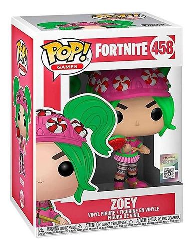 Funko Pop Fortnite 431 Zoey Nuevo Original Magic4ever