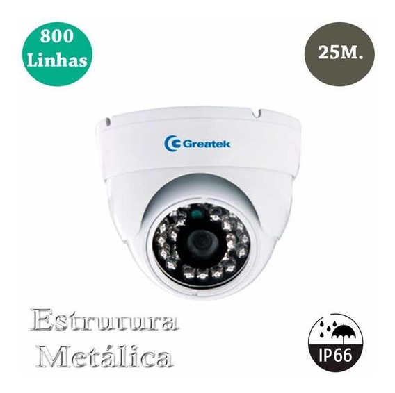 Câmera Segurança Residencial Dome
