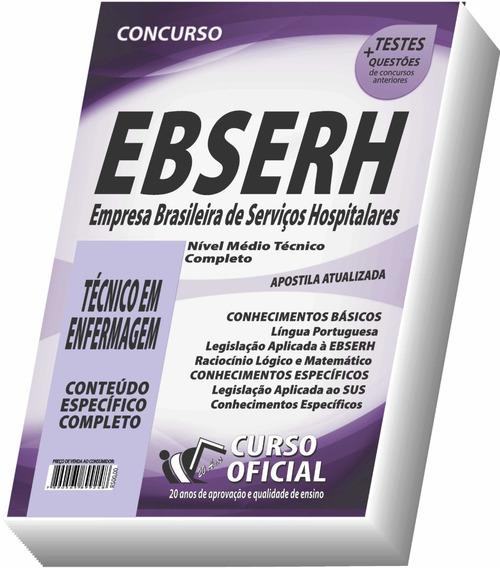 Apostila Ebserh 2019 - Técnico Em Enfermagem