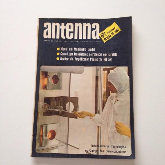 Revista Antenna Nº 01 Janeiro De 1976