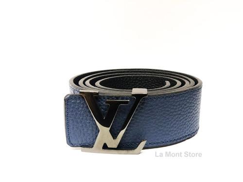 dc4bd8541 Cinturon Azul Hombre - Cinturones de Hombre Louis Vuitton en Mercado ...
