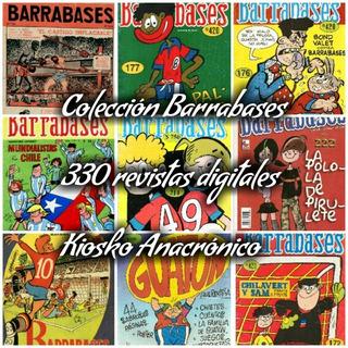 Barrabases Revistas Antiguas De Culto Chilena