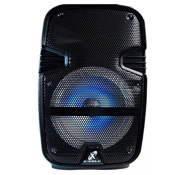 Caixa De Som Bluetooth Amplificada 100w X-cell Xc-c08
