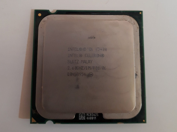 Processador Celeron E3400 Slgtz 2.60ghz 1mb Lga775