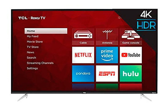 Tcl Smart Tv 55 Class 4-series 4k Uhd Hdr Roku