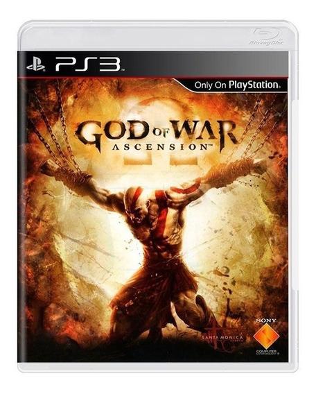 God Of War Ascension - Ps3 - Original - Fisica - Usado
