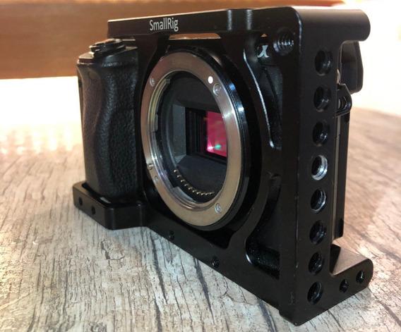 Corpo Sony Alpha A6300 4k Com Wifi - Black + Cage Smallrig