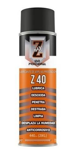 Imagen 1 de 3 de Lubricante En Aerosol Antioxidante Z Max.