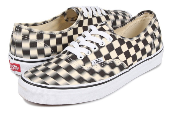 Tenis Vans Authentic Blur Check Original (vjm)
