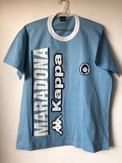 Remera De Hombre Marca Kappa Homenaje Maradona Talle Xl