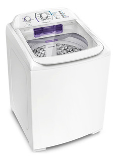 Lavadora de roupas automática Electrolux Premium Care LPR17 branca 17kg 220V
