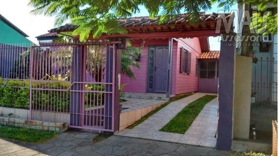 Casa Para Venda Em Canoas, São José, 2 Dormitórios, 1 Banheiro, 1 Vaga - Cwvcs0005