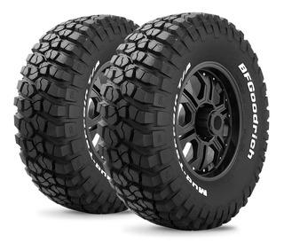 Kit X2 Neumáticos 255/75 R17 Bf Goodrich Mud Terrain T/a Km2