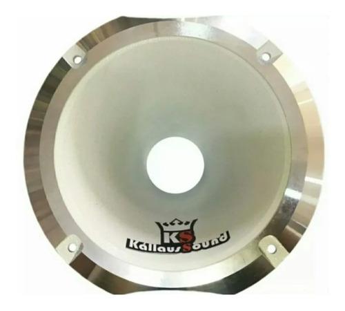 Corneta Kallaus Aluminio Hl 1450 Super Rosca Curto Branca