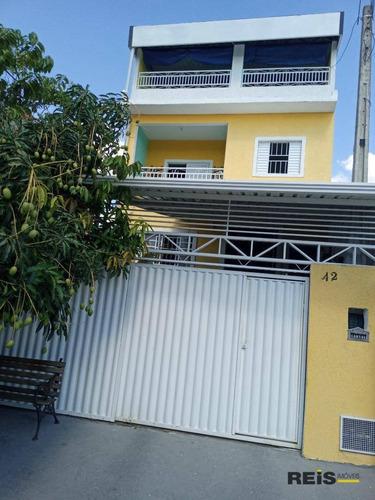Imagem 1 de 30 de Casa Com 3 Dormitórios À Venda, 144 M² Por R$ 450.000,00 - Jardim Residencial Villa Amato - Sorocaba/sp - Ca1732