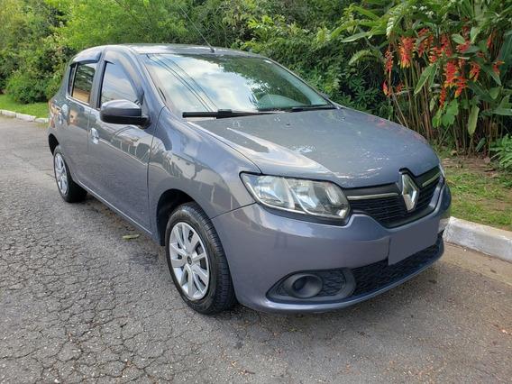 Renault Sandero Expression 1.6 Cinza 2016