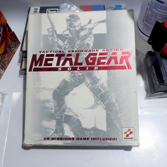 Jogo Metal Gear Solid 1 Pc Americano Original Raro!!!
