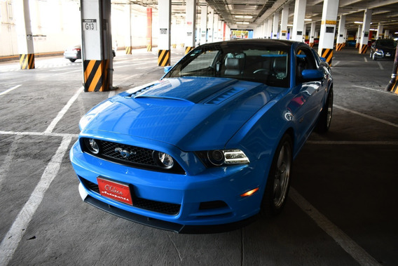 Ford Mustang Gt 2014 Glass Roof 4,370 Km Full Equipo Grabber