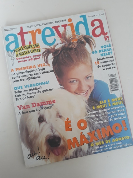 Revista Atrevida 24 - Van Damne - Caco Ciocler