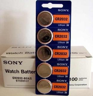 Pila Litio Sony Original 3v Cr 2032 Por Unidad