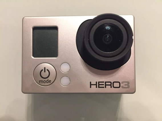 Camera Gopro 3 Silver Original Wifi, Frete Gratis.
