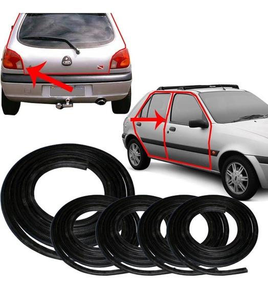 Kit Borracha Porta E Porta Malas Fiesta Hatch 96/2001 Street