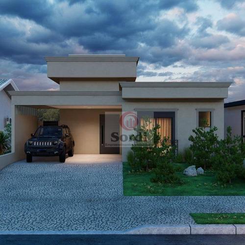 Casa À Venda, 150 M² Por R$ 780.000,00 - Distrito De Bonfim Paulista - Ribeirão Preto/sp - Ca2981
