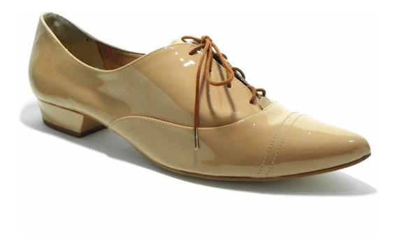 Sapato Oxford Dumond Nude Tamanho 39 - Cod.: 4110841