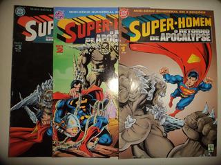 Super Homem Retorno De Apocalypse 1 2 3 Editora Abril Excele