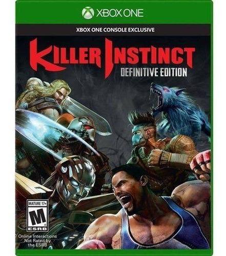 Killer Instinct 1 Xbox One Midia Fisica Novo Lacrado