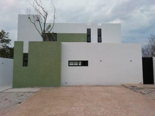 Hermosa Casa Nueva En Venta En Dzitya A Super Precio