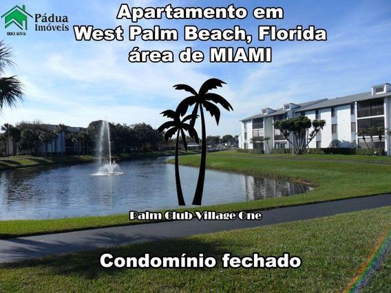Apartamento Temporada Para Locação, West Palm Beach, Miami - Ap0579. - Ap0579