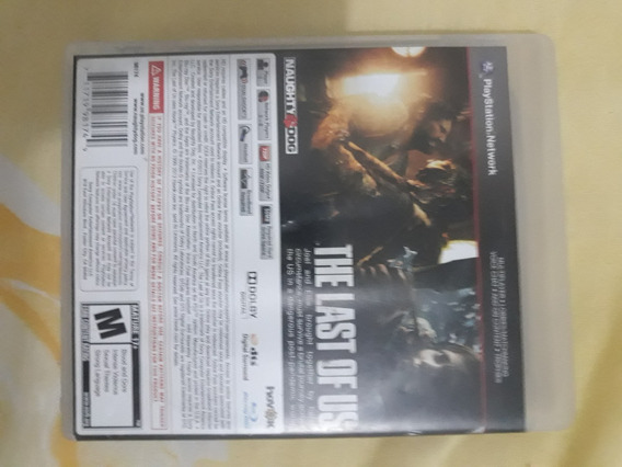 Jogo Mídia Física The Last Of Us Original Ps3