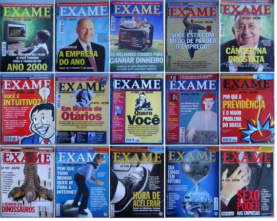 Revista Exame Diversas Edições - 1994 A 2013 Valor Unitario