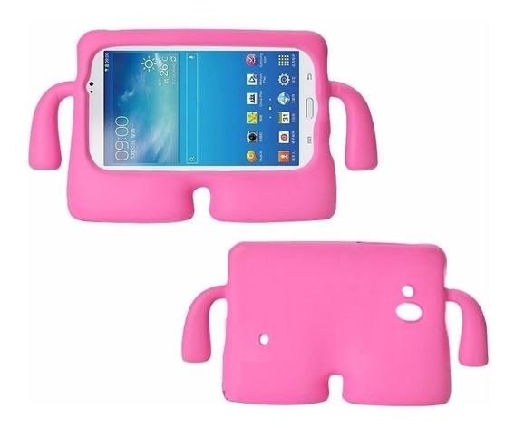 Capa Ibuy P/tablet Samsung Galaxy Tab A6 T280 T285 Rosa