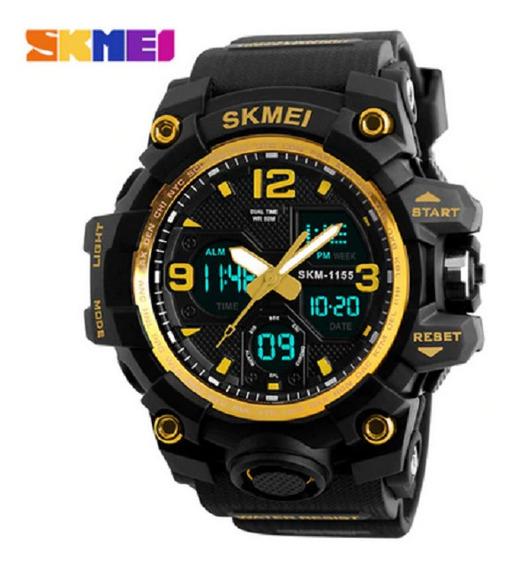 Relógio Masc Skimei Esp Militar Prod