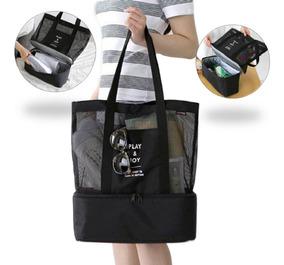 Bolsa De Playa Termica Multifuncional Cooler Bag Picnic