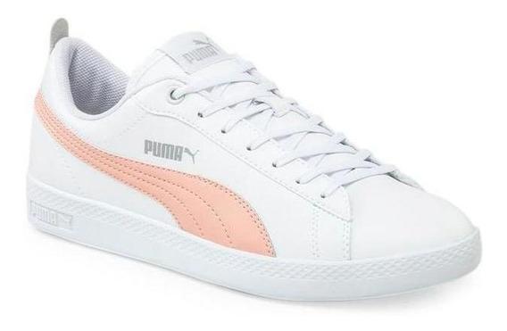 Zapatillas Puma Smash V2 Mujer 367113-14