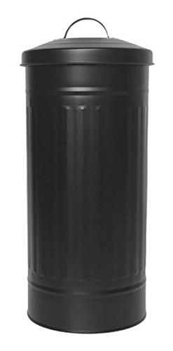 Portarrollos De Papel Higiénico Con Tapa Color Negro