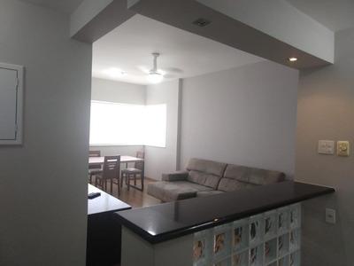 Flat Em Gonzaga, Santos/sp De 70m² 2 Quartos À Venda Por R$ 450.000,00 Ou Para Locação R$ 1.920,00/mes - Fl162009lr