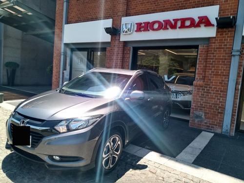 Honda Hr-v Exl At, 2017, Gris O, 67000kms