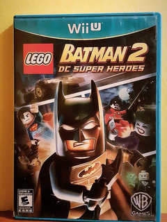 (lego) Batman 2 Super Heroes Y Batman 3 Beyond Gotham Wiiu