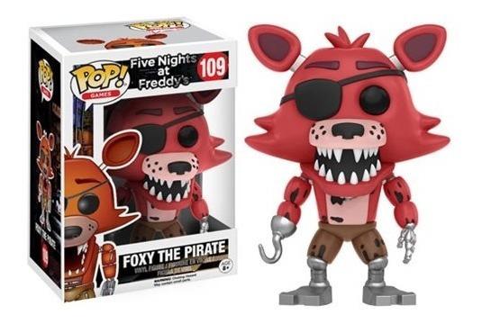 Five Nights At Freddy Boneco Pop Funko Foxy Pirata #109