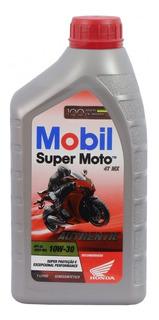 Aceite Mobil Super Moto 10w30 Semisintetico Honda Motostore