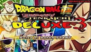 Dragon Ball Z Budokai Tenkaichi 3 Super Deluxe Heroes Ps2