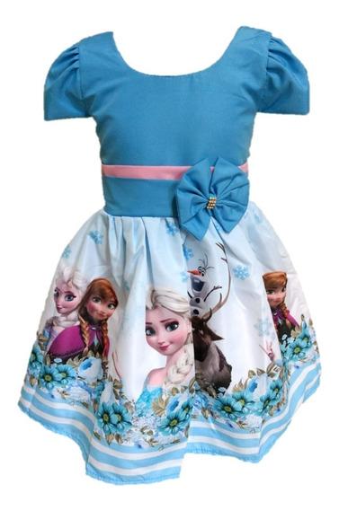Vestido Temático Infantil Kit Com 10 Festa Tema Atacado