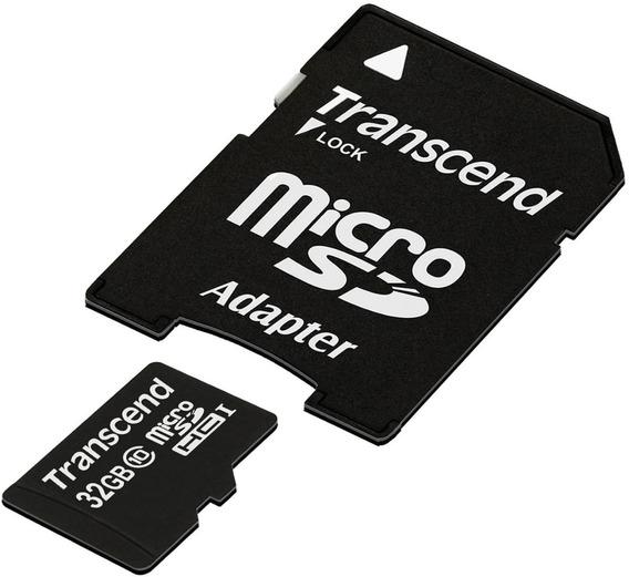 Cartão 32gb Micro Sdhc Classe 10 C/ Adap Sd - Kit 10 Unid